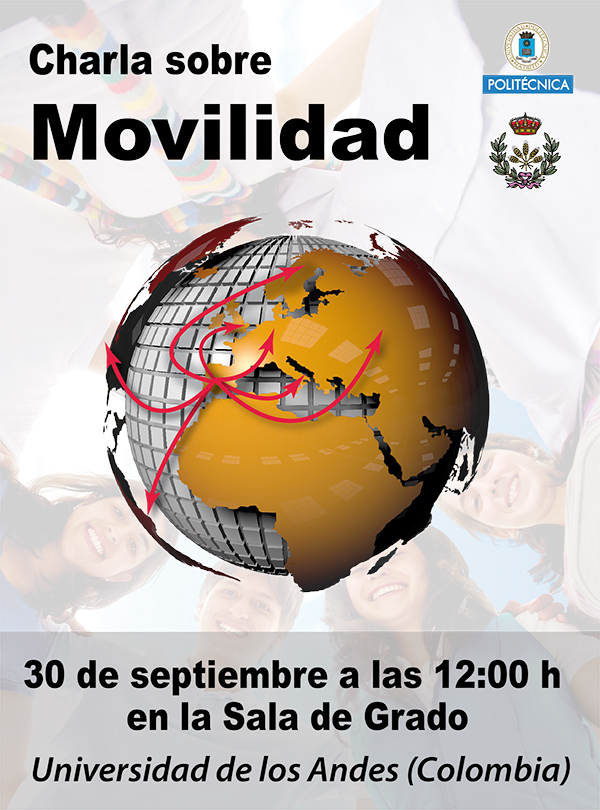 Cartel presentación Universidad de los Andes